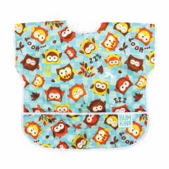 Bumkins - Junior Bibs (1-3yrs) - Blue Owl BKJ240