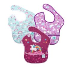 Bumkins - Super Bibs 3-packs - Girl E BKS3GF2