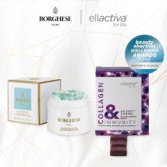 Ellactiva - 膠原蛋白軟粒(黑加侖子味)- 免疾力配方 CHE002ELA002CAI