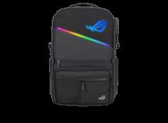 "ASUS - ROG Ranger BP3703 電競背包 / Aura RGB 燈效 / 防潑水 / 阻擋 RFID / 17"" 筆記型電腦收納 - 黑色 (90XB05X0-BBP010)"