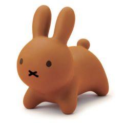 ides - Miffy Bruna Bonbon 迷你搖鈴玩具擺設-啡色 Brown06626