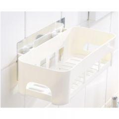 GOTO - 浴室置物架 (白色) x 2件裝