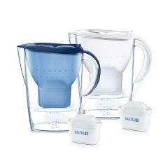 BTA-1026458-MO BRITA - Marella XL 3.5L Water Filter Jug (White/Blue)