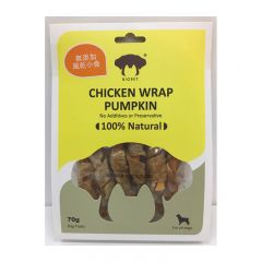 Biopet - 風乾雞肉卷南瓜 70g BTD-113