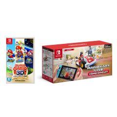 Nintendo 遊戲套裝 -《瑪利歐賽車實況:家庭賽車場》+超級瑪利歐 3D 收藏輯