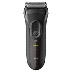 Braun Series 3 3020 Rechargeable Electric Shaver - Black