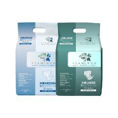 [原箱優惠] 松鶴 防漏型紙尿片(10片/包) x10包,送松鶴濕紙巾1包