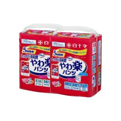 [原箱優惠] 日本喜舒樂成人紙尿褲(安全防護型)x3包 C01010197packC