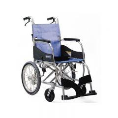 日本Kawamura KF 輕量型輪椅 16寸細轆 (水藍色) C01030480