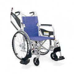 日本Kawamura KFP輕量多功能型輪椅 - 水藍色 C01030631