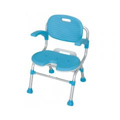 日本TacaoF可摺式U形沐浴椅(有背及扶手) (SCU01)