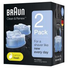 Braun CCR2 Clean & Charge Refill Cartridges C01943