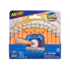 Hasbro - Nerf N-Strike Accustrike Refill Pack (24 Darts) C0163AS00