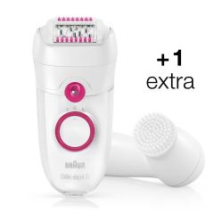 Braun Silk-épil 5 - 5-329 Epilator with Facial Brush SE5329 C02083
