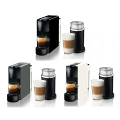 Nespresso - C30 Essenza Mini 咖啡機 + Aeroccino3 黑色打奶器 (3款顏色) C30-SG-3594