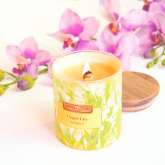 Carroll&Chan - Ginger Lily beeswax jar candle C_04_GIN-LILY
