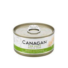 Cangan - 雞肉 無穀物貓罐頭 75g (原箱12罐) Can-WetChick