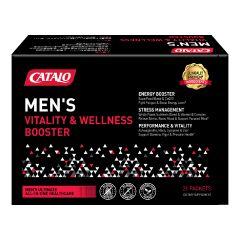 CATALO Men's Vitality & Wellness Booster 21 Packets catalo3482
