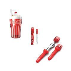 ZOKU - 可口可樂套裝(包括沙冰杯、餐具、伸縮飲管)