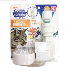 GEX - Japan Pure Crystal Drink Bowl for Cat (Light Dish) CDCB172M170