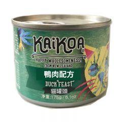 KAIKOA - 紐西蘭鴨肉成貓罐頭 (無殻物配方) [簡體字版] (85g / 175g)