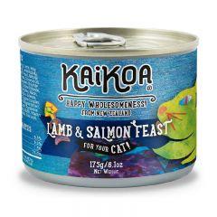 KAIKOA - 紐西蘭羊肉&三文魚成貓罐頭 (無殻物配方) (85g / 175g)