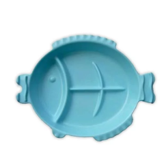 Cornflower - Tootfish Plate - Blue CFL-K50L