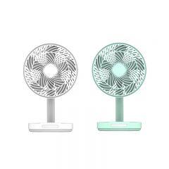 Origo - RechargeableConvection Fan CFM89(White/Green) CFM89-MO