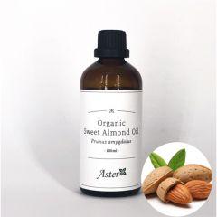 Aster Aroma Organic Sweet Almond Oil (Prunus amygdalus) - 100ml CL-010280030