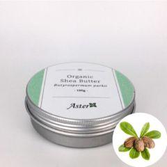 Aster Aroma Organic Shea Butter (Butyrospermum parkii) - 100g CL-020040010O
