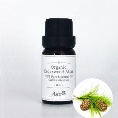 Aster Aroma Organic Cedarwood Atlas Essential Oil (Cedarus atlantica) - 10ml CL-020110010O