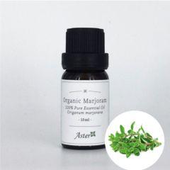 Aster Aroma Organic Marjoram Sweet Essential Oil (Origanum majorana) - 10ml CL-020300010