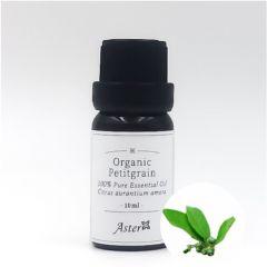Aster Aroma Organic Petitgrain Essential Oil (Citrus amara) - 10ml CL-020400010O