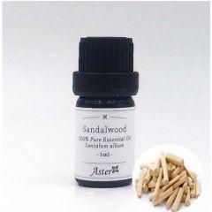 Aster Aroma Sandalwood 100% Pure Essential Oil (Santalum album) - 5ml CL-020510010O