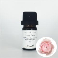 Aster Aroma Rose Otto 100% Pure Essential Oil (Rosa damascena) - 5ml CL-020540010O