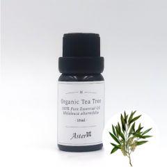 Aster Aroma Organic Tea Tree Essential Oil (Melaleuca alternifolia) - 10ml CL-020580010