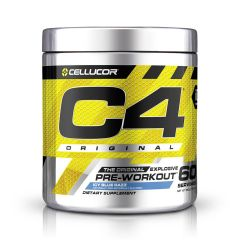 Cellucor C4 Original 390g - Icy Blue Razz (Pre - workout) CLCC4OPREWIBR390G