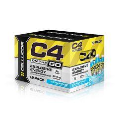 Cellucor C4 RTD 11.7Oz - 冰極藍樹莓味 (氮泵) CLCC4RTDENDRIBR117
