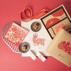 微熱山丘 - 蘋果酥5個裝+鳳梨酥5個裝禮盒 (到期日: 2021年3月11日)