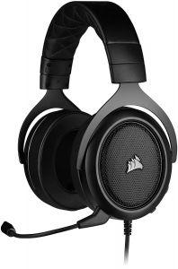 Corsair HS50 PRO STEREO 電競遊戲耳機 (黑色 Carbon) -CO-HS-HS50 PRO STEREO CA