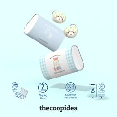 Thecoopidea - Thecoopidea x moppu True Wireless Earbuds CP-TW04-MOPU