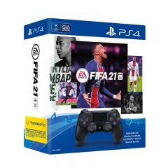 DUALSHOCK®4 Wireless Controller EA SPORTS™ FIFA 21 Voucher Bundle CR-4124661-O2O