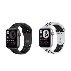 Apple Watch Nike SE (GPS + 流動網絡) 44亳米鋁金屬錶殼配上Nike運動錶帶 (2020)