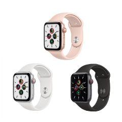 Apple Watch SE (GPS + 流動網絡) 40亳米鋁金屬錶殼配運動錶帶 (2020)