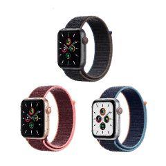 Apple Watch SE (GPS + 流動網絡) 44亳米鋁金屬錶殼配運動手環 (2020)