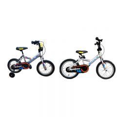 "STYLE BMX BIKE 小童車- 銀藍橙色 (14"") / (16"") CR-ccyc-Style"