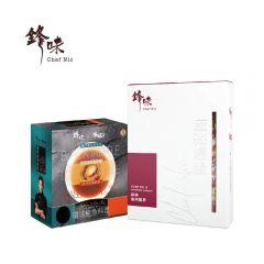 鋒味 x 安記 - 環球鮑魚料理 (1盒) + 麻辣臘腸 (1盒)   CR-chefnic-abaset