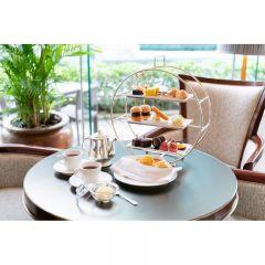 香港港麗酒店樂聚廊下午茶三層架 (2位) (星期一至星期日)   CR-CONR-AT