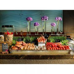 香港港麗酒店咖啡園海鮮自助晚餐 (1位) (星期一至星期四)   CR-CONR-DBWD
