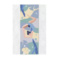 Flexiflow - 多用便㩦瑜珈毛巾 (上下顛倒圖案) CR-GK-FXL-TOWUPD